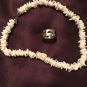 Necklace and ring